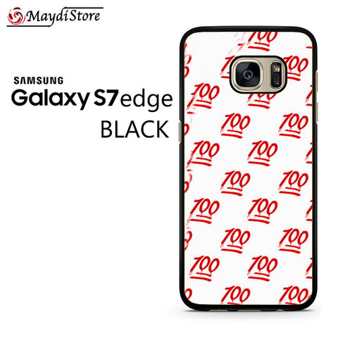 100 Pattern For Samsung Galaxy S7 Edge Case
