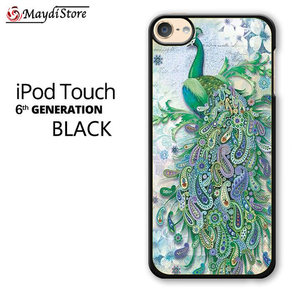 Paisley Peacock For Ipod Touch 6 Case