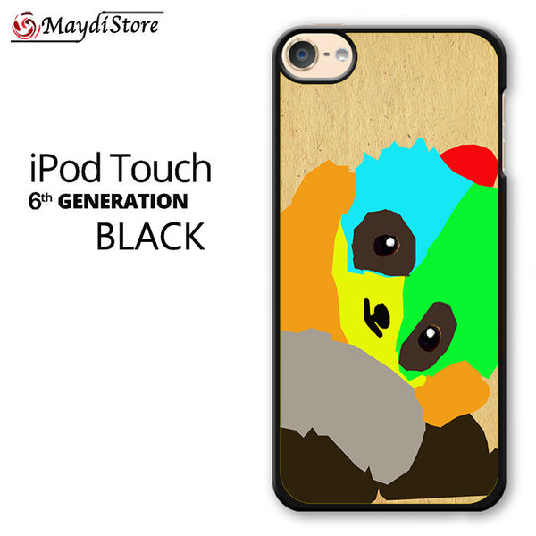 Panda Cartoon For Ipod Touch 6 Case