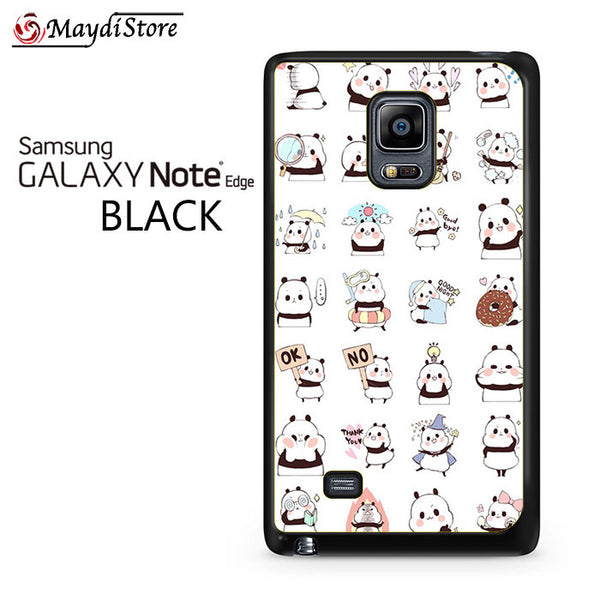Panda Emoticon 2 For Samsung Galaxy Note Edge
