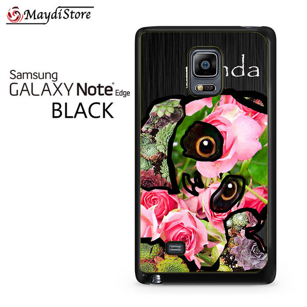 Flower Panda For Samsung Galaxy Note Edge