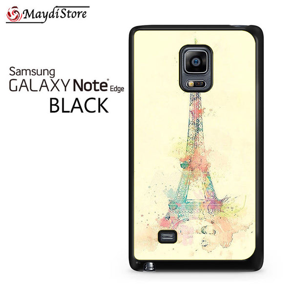 Eiffel Tower Watercolor For Samsung Galaxy Note Edge