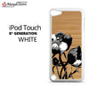 Black And White Rose For Ipod Touch 5 Case