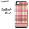 Pink And Beige Plaid For Ipod Touch 6 Case