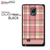 Pink And Beige Plaid For Samsung Galaxy Note Edge