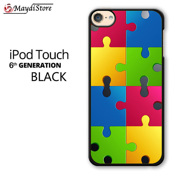 Jigsaw Puzzle For Ipod Touch 6 Case