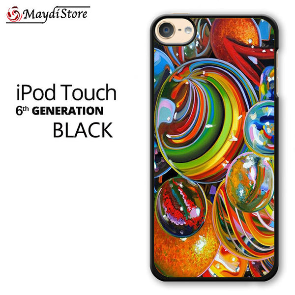 Rainbow Marble For Ipod Touch 6 Case