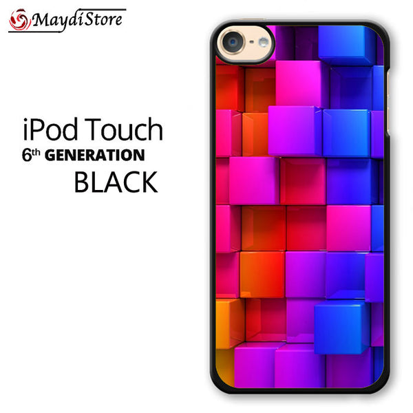 Rainbow Square For Ipod Touch 6 Case