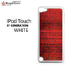 Red Brick Wall For Ipod Touch 5 Case