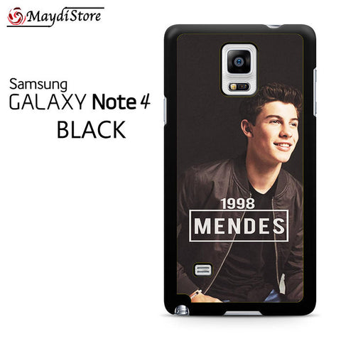 1998 Shawn Mendes For Samsung Galaxy Note 4 Case