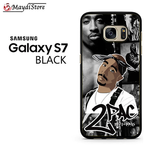 2 Pac 1971-1996 For Samsung Galaxy S7 Case