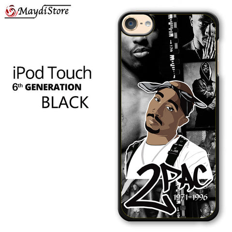 2 Pac 1971-1996 For Ipod Touch 6 Case