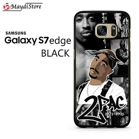 2 Pac 1971-1996 For Samsung Galaxy S7 Edge Case