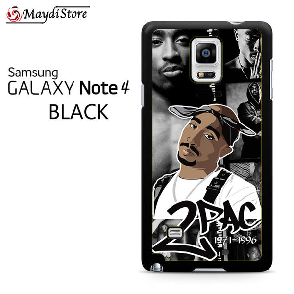 2 Pac 1971-1996 For Samsung Galaxy Note 4 Case