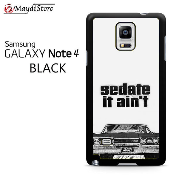 1966 Oldsmobile 442 Sedate It Aint For Samsung Galaxy Note 4 Case