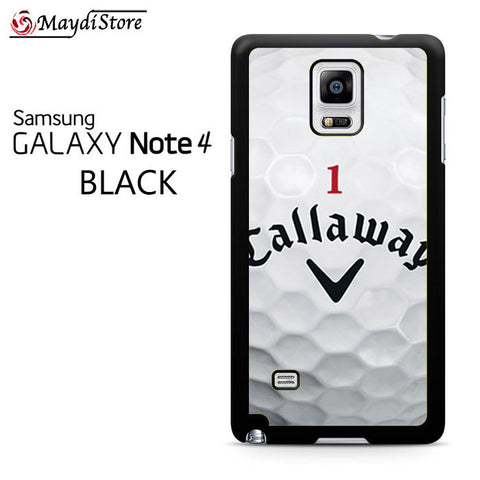 1 Callaway Logo Golf Ball For Samsung Galaxy Note 4 Case