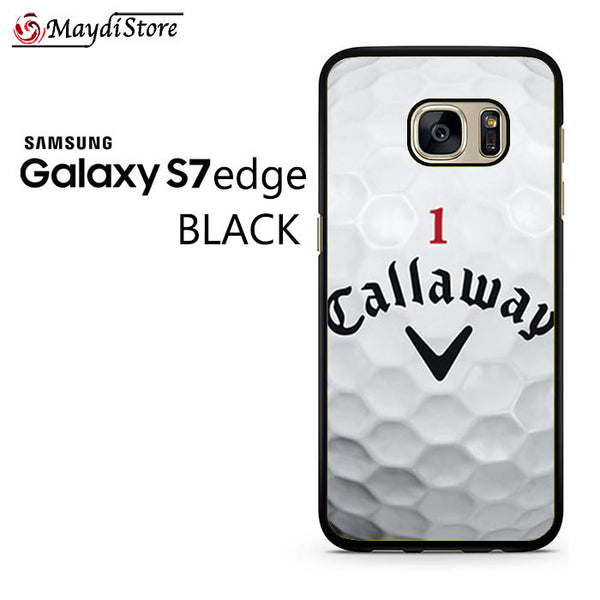 1 Callaway Logo Golf Ball For Samsung Galaxy S7 Edge Case