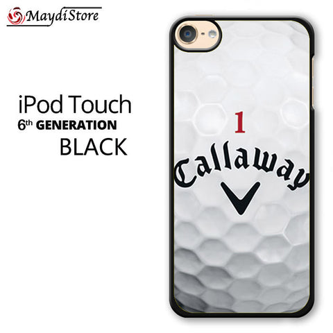 1 Callaway Logo Golf Ball For Ipod Touch 6 Case