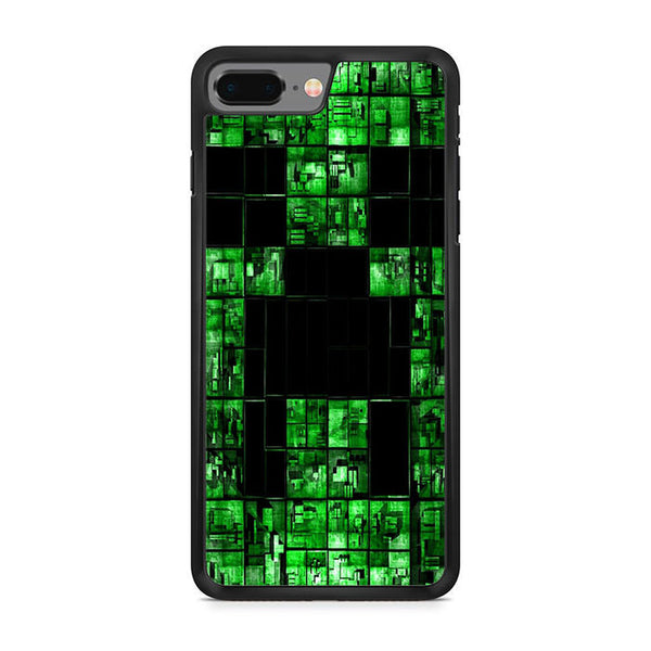 Black Creeper Face Minecraft For Iphone 8 Plus Maydistore