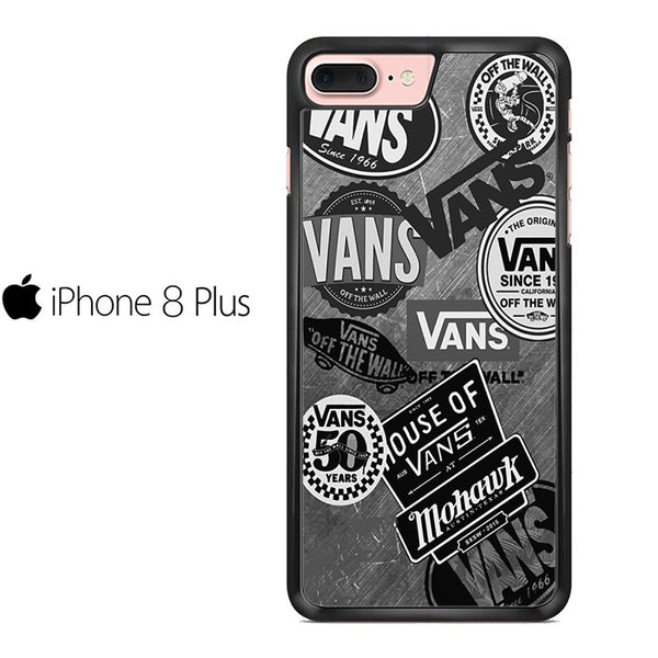 Vans Logo Collage For IPHONE 8 PLUS Case