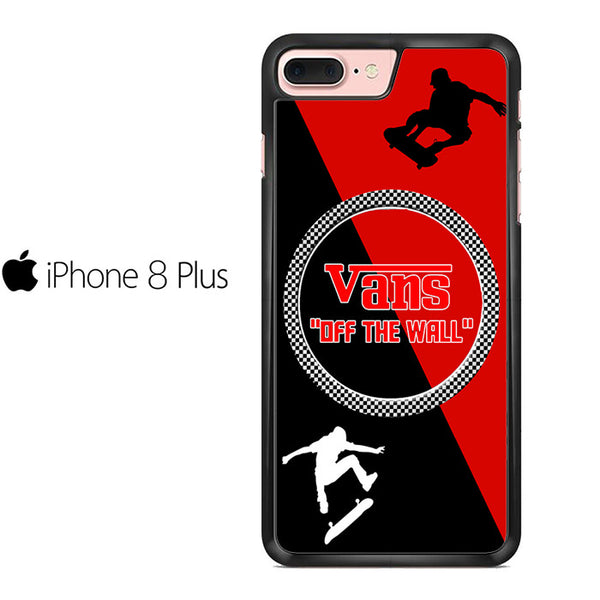 competitive price 9f33b b04b1 Vans Off The Wall Skateboard Red For IPHONE 8 PLUS Case