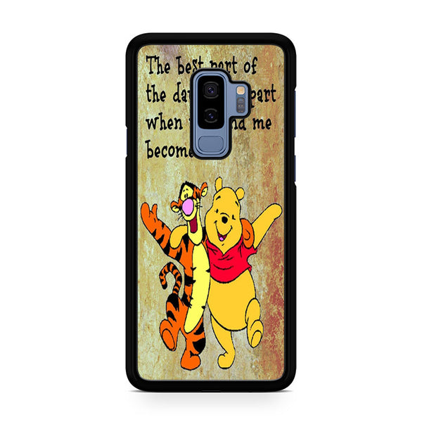 uk availability f4b55 d1b0f Winnie The Pooh Quotes Disney For Samsung Galaxy S9 Plus Case