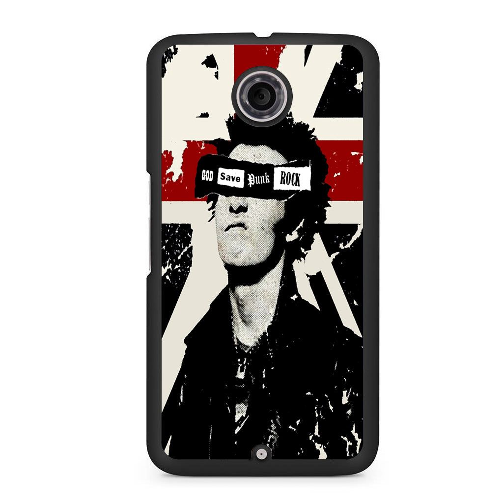 God Save Punk Rock Quotes For NEXUS 6 Case