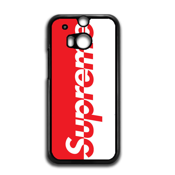 competitive price 12363 2192f Supreme Logo Red And White For HTC ONE M8 Case