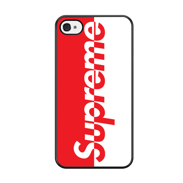half off c2869 507c8 Supreme Logo Red And White For Iphone 5C