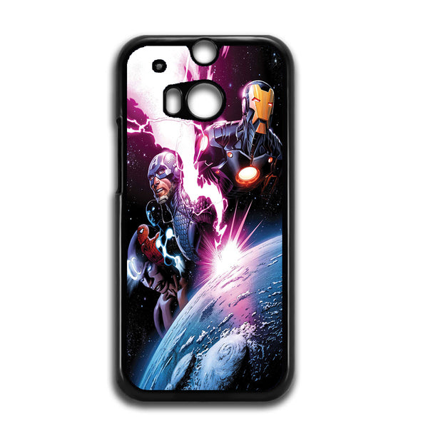 The Avengers Space For HTC ONE M8 Case