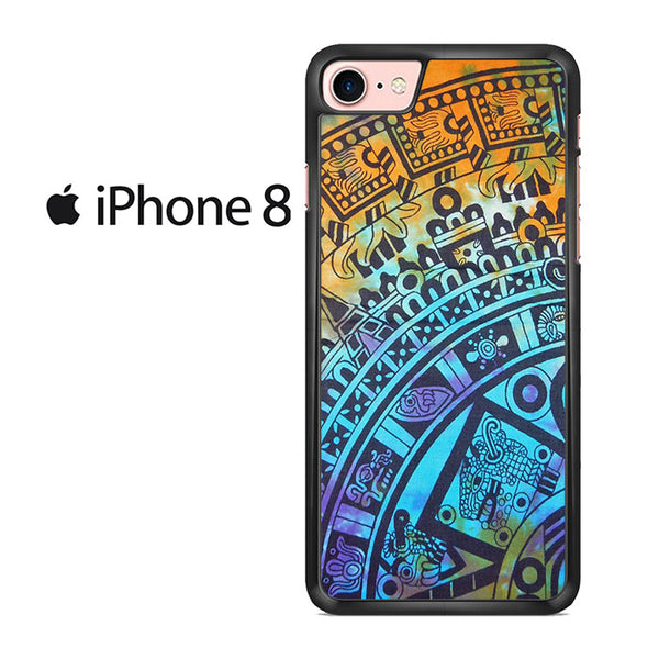 Tie Dye Aztec Pattern For IPHONE 8 Case