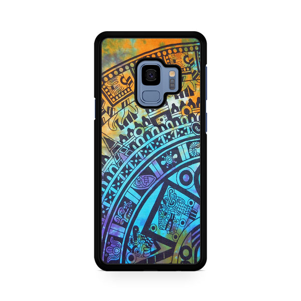 Tie Dye Aztec Pattern For Samsung Galaxy S9