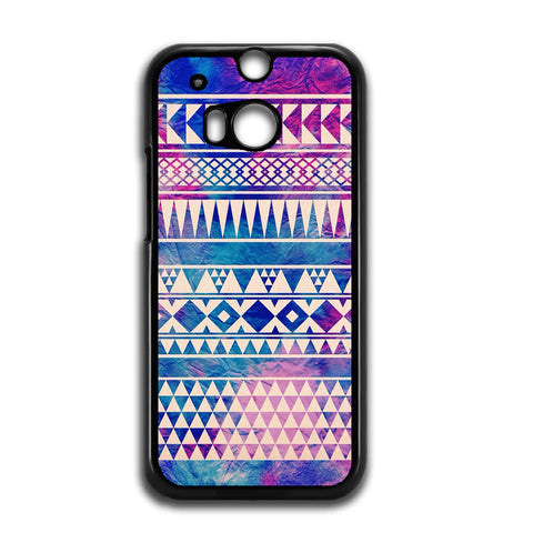 Tribal Aztec Seamless Pattern For HTC ONE M8 Case