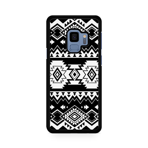 Tribal Navajo Seamless Pattern Black And White For Samsung Galaxy S9