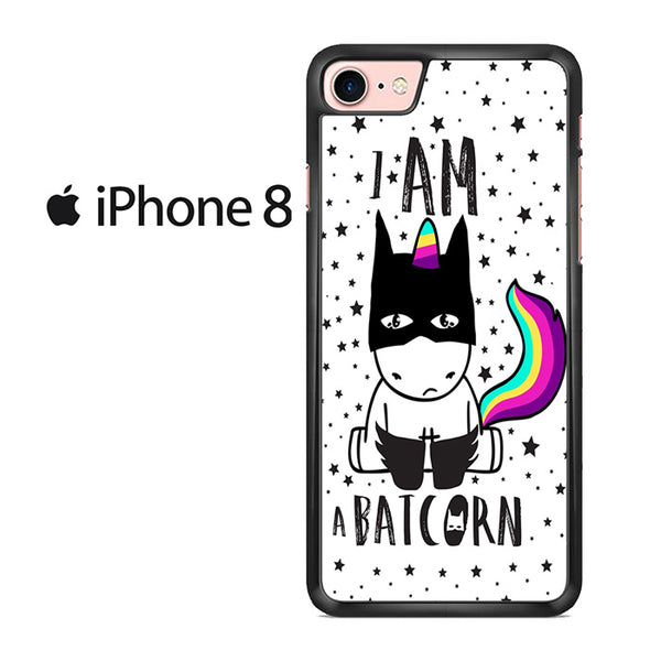 Unicorn I Am Batcorn For IPHONE 8 Case