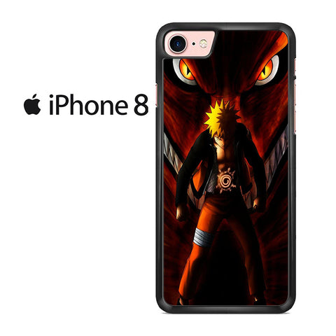 Uzumaki Naruto Kyuubi Mode For IPHONE 8 Case