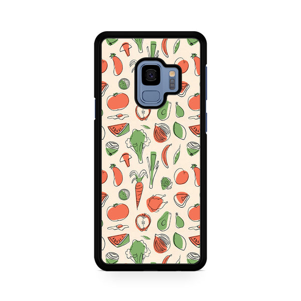 Vegetable Pattern For Samsung Galaxy S9
