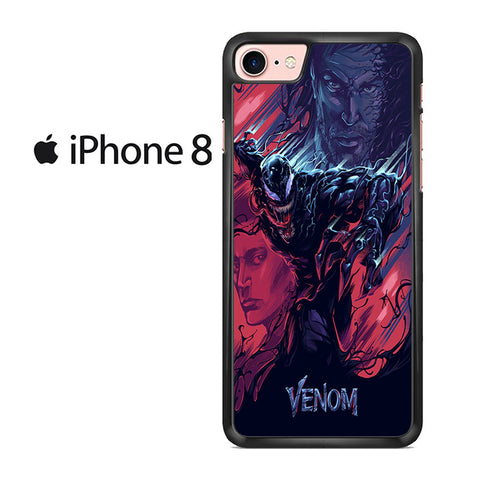 Venom Movie Fan Art For IPHONE 8 Case