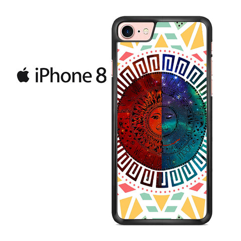 We Live By The Sun We Feel By The Moon Space For IPHONE 8 Case