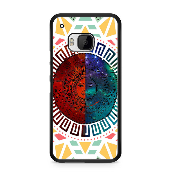 We Live By The Sun We Feel By The Moon Space For HTC ONE M9 Case