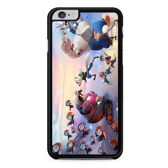 in stock 1d434 364b1 Arctic Justice Thunder Squad For Iphone 6 Plus Iphone 6S Plus Case