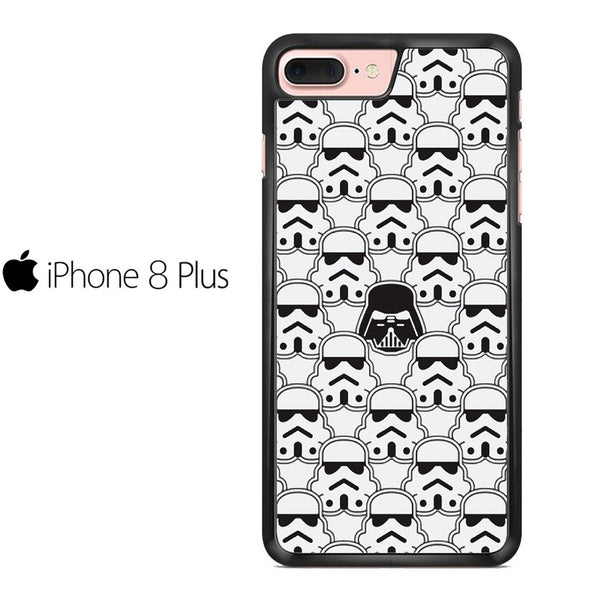 Star Wars Darth Vader And Stormtrooper Pattern For IPHONE 8 PLUS Case