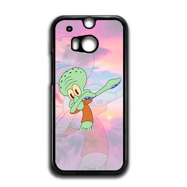 The Evolution Of Squidward Dab For HTC ONE M8 Case