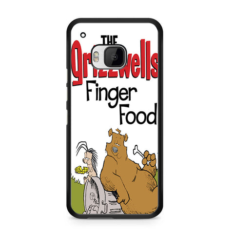 The Grizzwells Finger Food For HTC ONE M9 Case