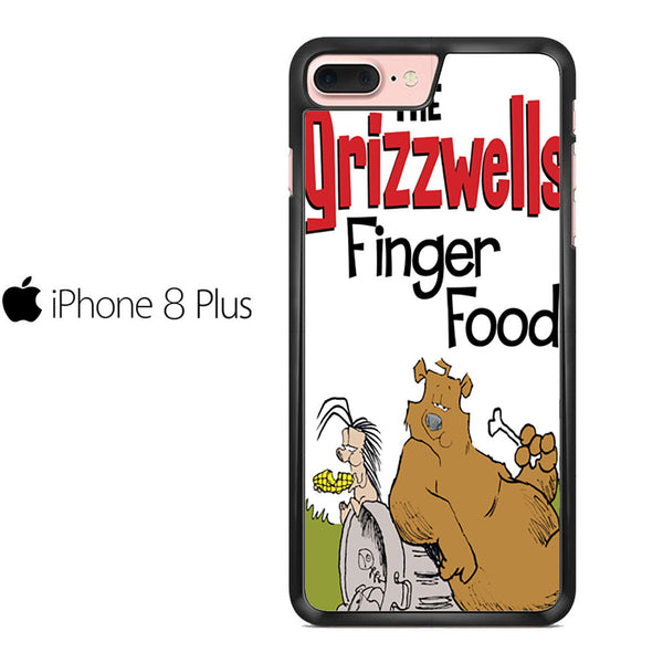 The Grizzwells Finger Food For IPHONE 8 PLUS Case