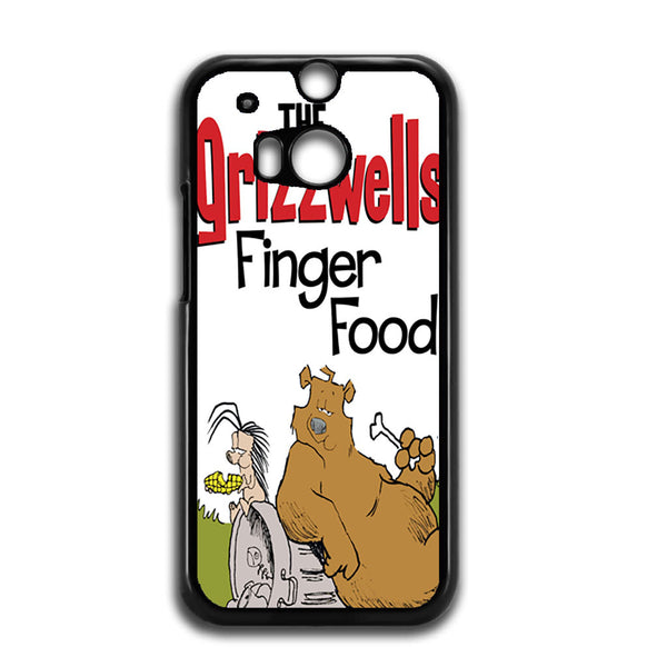 The Grizzwells Finger Food For HTC ONE M8 Case