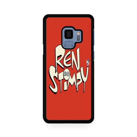The Ren And Stimpy Show Logo For Samsung Galaxy S9