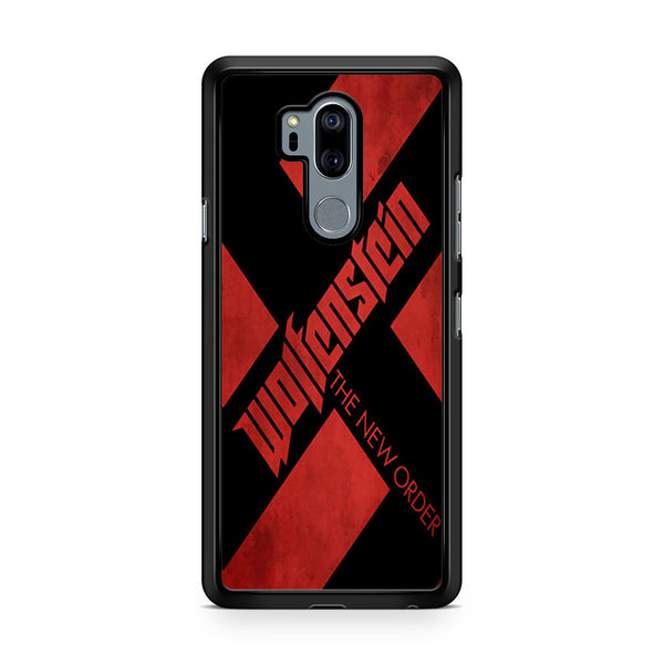 Wolfenstein Logo Poster For LG G7 Thinq