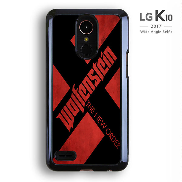Wolfenstein Logo Poster For LG K10 Case