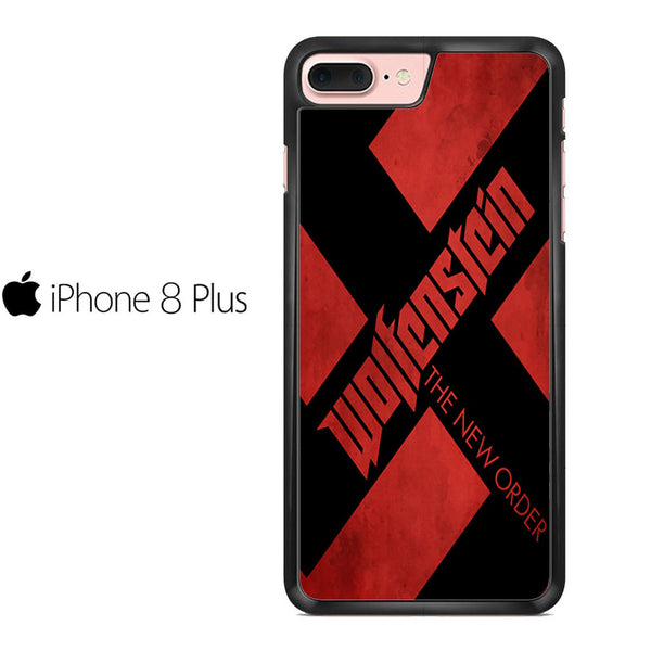 Wolfenstein Logo Poster For IPHONE 8 PLUS Case